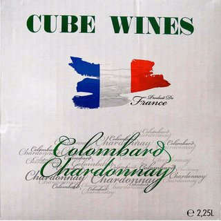 CUBE WINES Colombard Chardonnay France 11,5% vol. 2,25l