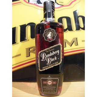 The Famous Bundaberg Black Label 0,7 Ltr. - limited release 1994 VAT 166