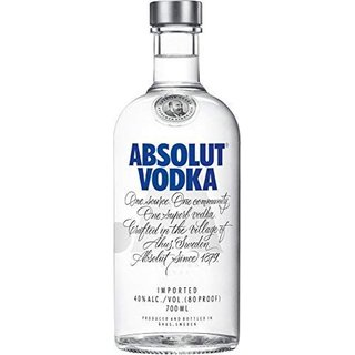 Absolut Vodka blue  0,7 Ltr.