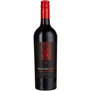 Apothic Wines Red, 2018, halbtrocken 0,75 l