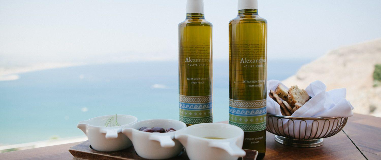 Alexandros - preisgekröntes Olivenöl